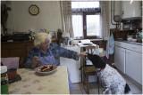 Lies in de keuken