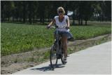 Rietje op de E-bike