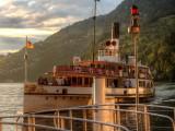 Steamboat URI arriving in Vitznau