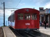 Historic car of the Vitznau-Rigi-Bahn