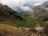 Lifting clouds at Mount Pilatus (2128 m)