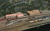 Erstfeld Depot en miniature