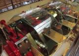 Crankshaft of the steam engine of the 'Stadt Luzern'