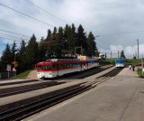 Both railways on mount Rigi