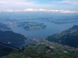 Lake Lucerne from Stanserhornbahn