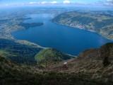 Lake Zug from Mount Rigi