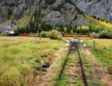 Durango & Silverton RR, Elk Park Wye
