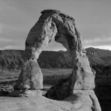 Delicate Arch BW