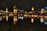 Lucerne by night