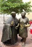 SAN PEDRO CLAVER AND AFRICAN SLAVE