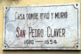 HOUSE AND CHURCH OF SAN PEDRO CLAVER (1575)
