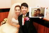 勝文艾君婚禮