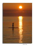 Paddle Board, Lake Michigan, Point Betsie