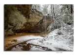 Winter in The Hocking Hills 2016
