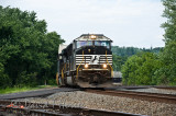 Eastbound Intermodal at Duncannon, Pa.