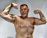 goatee trucker flexing blond chest hair.jpg