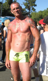 very sweaty older man gay pride parade.jpg