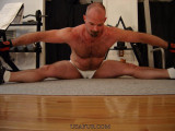 hairy man doing splits.jpg