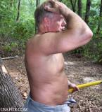 hot sweaty man chopping wood.jpg