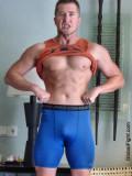 muscle man bulging shorts.jpg