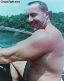 dripping wet daddie boating.jpg