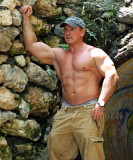 outdoors muscle man camping.jpg
