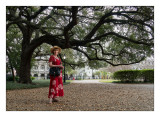 Margaret & the Great Tree In Jackson Square NOLA