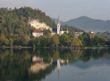 St. Martin in the morning - Bled
