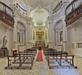 The newly restored San Pietro
