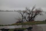 Clement Park Spring 'snowstorm' April 13