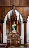 Inside Santa Rosa Cathedral