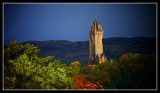 The Wallace Monument in an Autumn Sunset