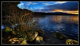 Sunset at Loch Garten