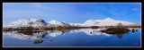Snow Reflections on Lochan na h - Achlaise