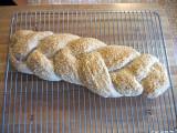 braided italian loaf