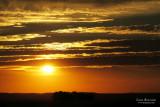 Sunset in Dona Catalina