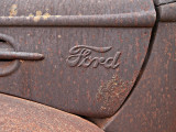 1948 Ford  truck hood side view