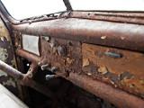 1948 Ford  truck dashboard