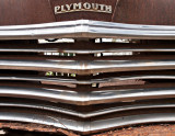 1949 Plymoth grill