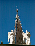 Steeple and angels, Round Top, TX,  #2