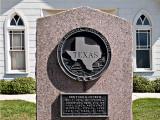 Shelby church marker