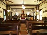 Interior, Stella Maris Chapel, Lamar, TX.