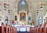 Panna Maria, altar
