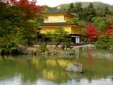 Kinkakuji, the Golden Pavilion, at Kyoto