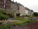 Kings Garden, walled garden walk, perennial border