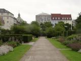 Kings Garden,  walled garden walk