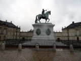 Amelienborg Palace, equestrian statue of Frederick V