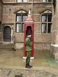 Rosenborg Castle, guard