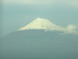 Mt Fuji, from the train