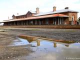 Grand station at Serviceton, Victoria